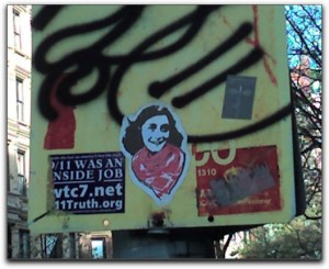 Anne Frank on the Upper West Side of Manhattan