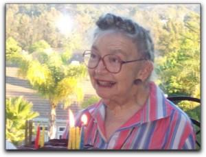 Faye Hurvitz celebrates her 90th birthday