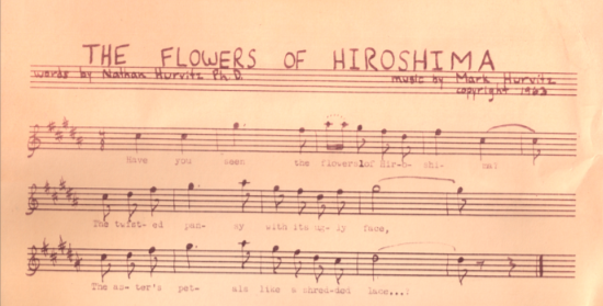 Music for The Flowers of Hiroshima