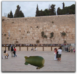 ambiguous nuclear device in the kotel plaza