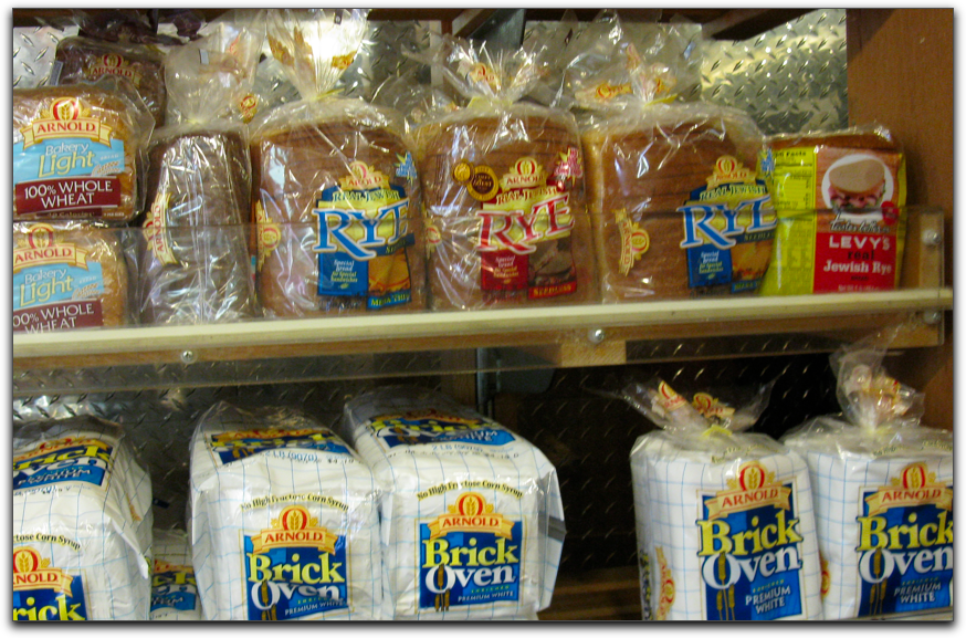 lonely Levy's Jewish rye in 2009