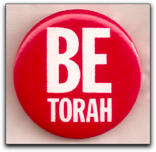 Be Torah button