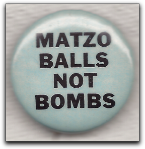 matzo balls not bombs