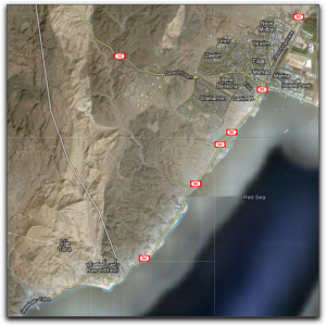 taba to eilat route