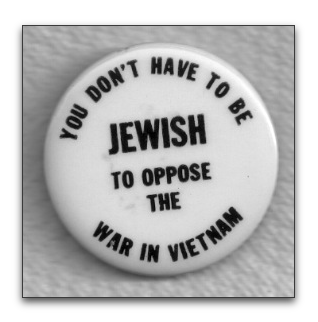 you don't have to be jewish to oppose the war in vietnam