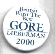 Bentsh With The Best Gore Lieberman 2000