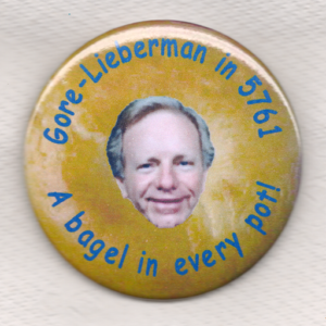 Gore-Lieberman in 5761 A bagel in every pot!
