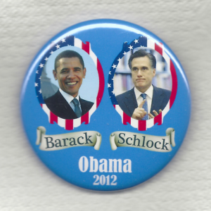 Barack [vs] Schlock Obama 2012